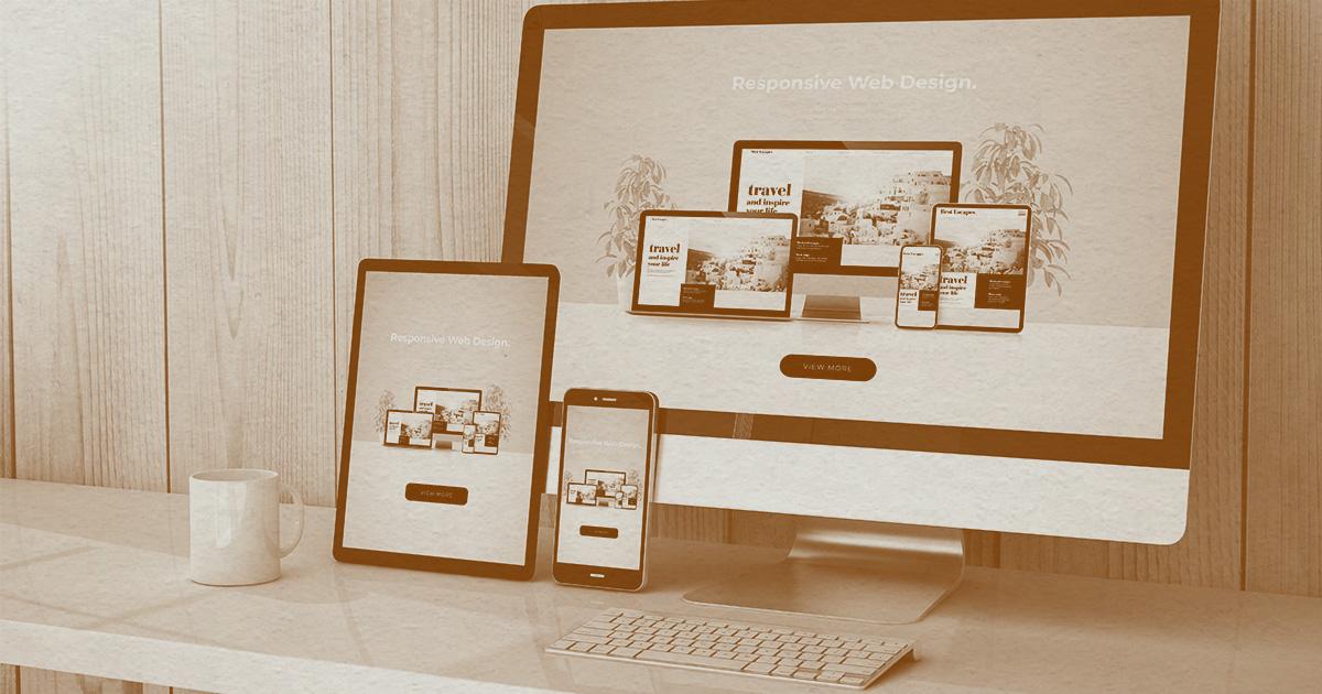 Webサイト制作ページのイメージ画像